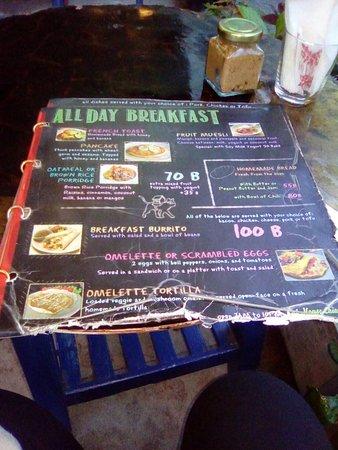 cat house restaurant menu