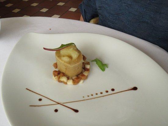 Montauroux, France: entremets de foie gras et poire aux épices