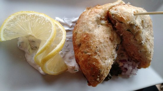 Havre de Grace, MD: Salmon Wellington