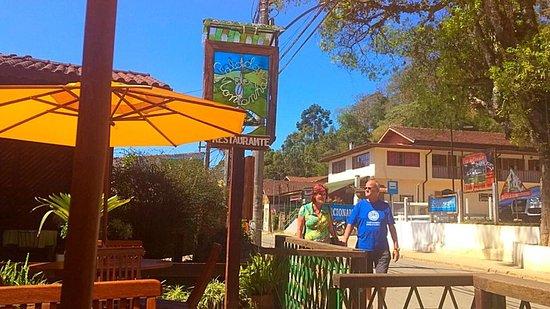 Paladar da Montanha: entrada do restaurante