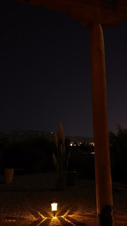 Corrales, NM: beautiful view at night