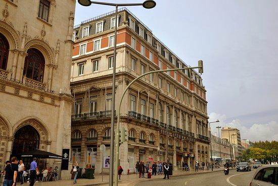 picture of hotel avenida palace lisbon. Black Bedroom Furniture Sets. Home Design Ideas
