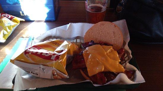 Blakeslee, Pensilvania: Bacon cheeseburger