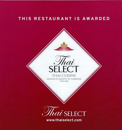 Wildau, Alemania: Wir sind Thai-Select zertifiziert und sehr stolz darauf.