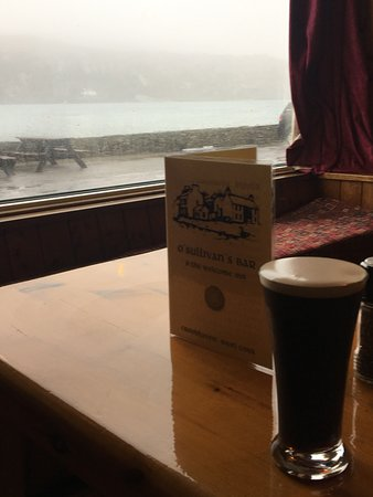 O'Sullivan's Bar: Perfect for a Winter's day!
