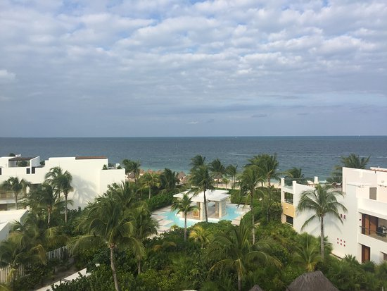 Excellence Playa Mujeres: This was view from our ocean front room balcony