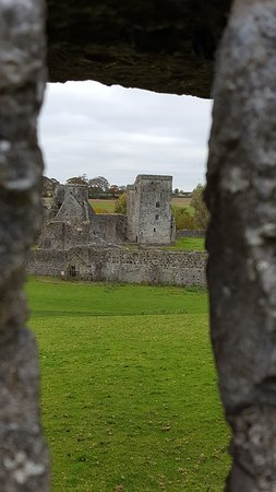 Kells Priory: the view