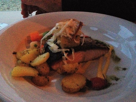 Roadford House Restaurant & Accommodation: Artfully plated delicious starters and mains