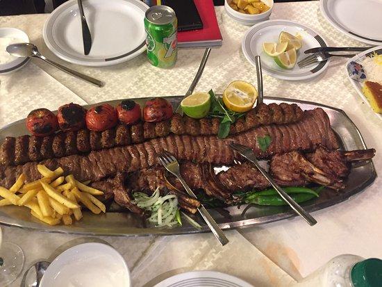 Alborz: Kebab cubide , sultani, e shishlik