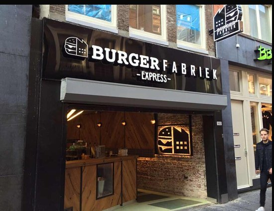 Burgerfabriek express amsterdam centrum restaurant for Appart hotel amsterdam centre ville