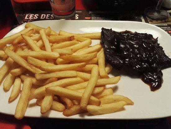 Buffalo Grill: Menu Shérif Bavette d'Aloyau Frite
