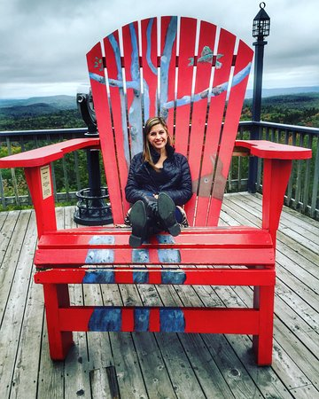 Wilmington, VT: A chair with a view