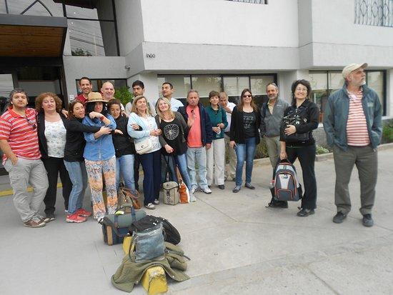 Hotel Los Andes: Coral Gonnet de Argentina, nos alojamos allí tres días para un encuentro coral en la ciudad