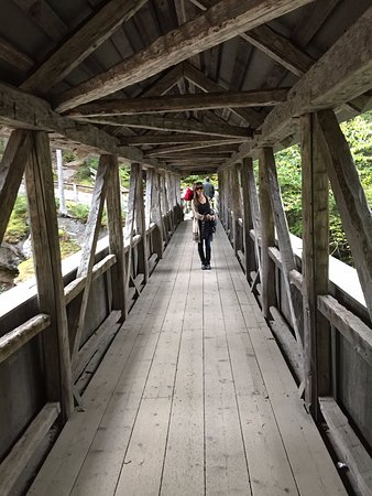 Franconia Notch State Park: Bridge