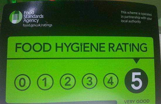 vantage indian restaurant food hygiene rating 2016