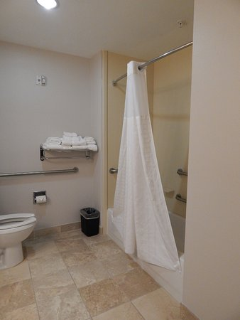 handicap accessible bathtub with grab bars picture of best western