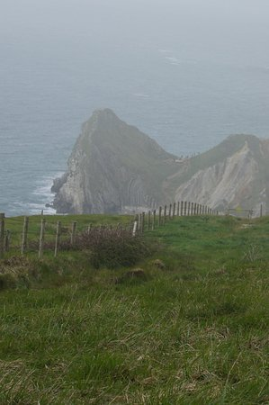 West Lulworth, UK: Walk toward durdle door