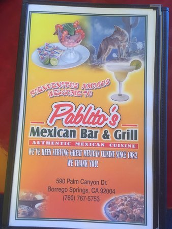 Mexican Restaurants In Borrego Springs Ca