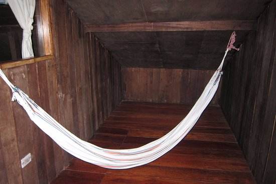 Hosteria Septimo Paraiso: The hammock. Give it a try.