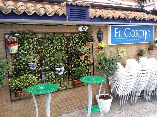 Collado Villalba, España: Entrada del restaurante