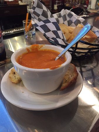Pottsville, PA: Tomato Soup was very good!
