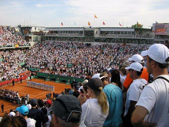 Stade Roland Garros: Finale Federer-Nadal