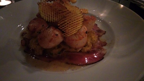 Baileys Harbor, WI: Scallops