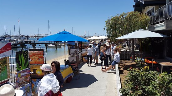 Balboa Island Art Walk In Newport Beach Ca