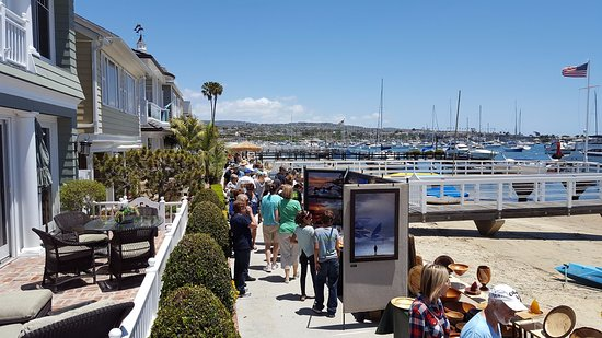 My Newport Beach Tours Art Walk On Balboa Island Ca