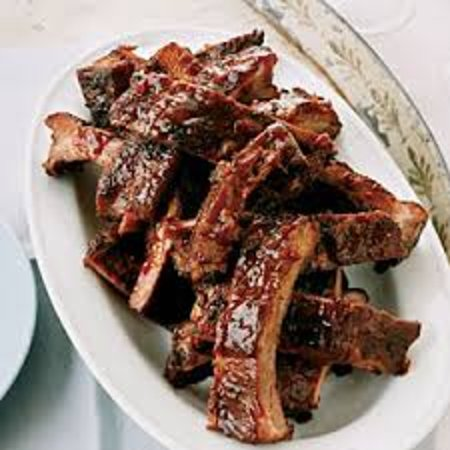Wheelhouse Restaurant Catfish and Wings: Baby back Ribs everyday in Buffet with BBQ beans and Chicken