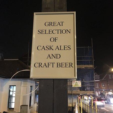 New signage