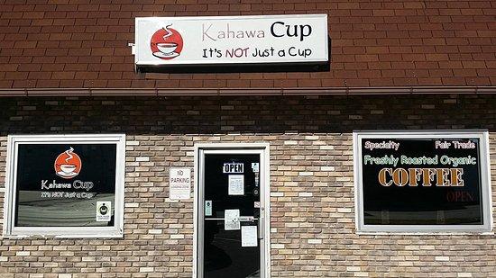 Oskaloosa, IA: Kahawa Cup Coffee
