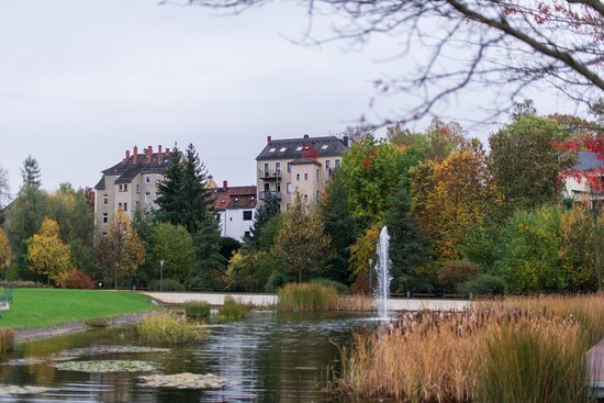 Zeitz, Deutschland: внутренний двор и сад, Морицбург