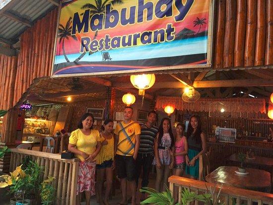 Mabuhay Bar and Restaurant: The Mabuhay Staff