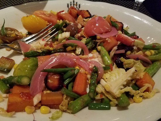 The Bay House: I am a vegetarian and was so happy the chef prepared something special for me!