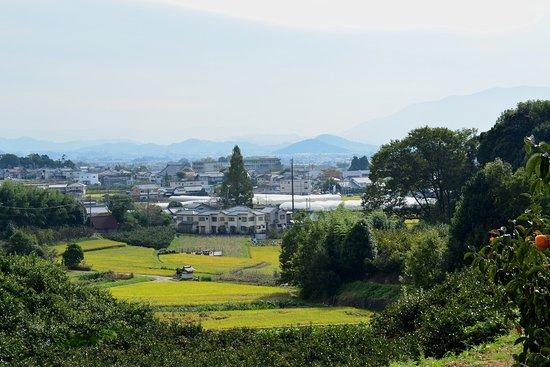 Tenri, Japan: 衾田陵付近から大和三山