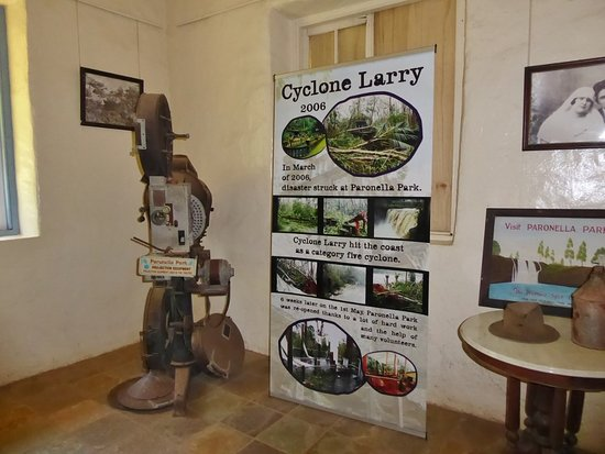 Mena Creek, Australia: Display in museum