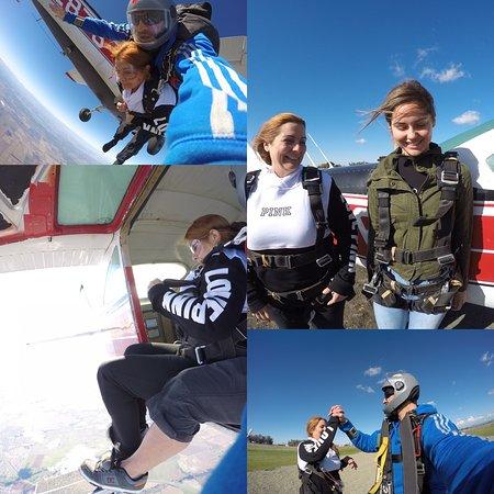 Lincoln, Californien: Skydiving Sacramento