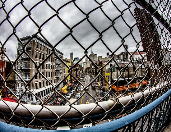 View of Chinatown NYC from Manhattan Bridge Picture of Shoot New