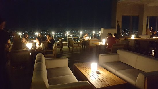 Alila Solo Rooftop Cafe Outdoor Side
