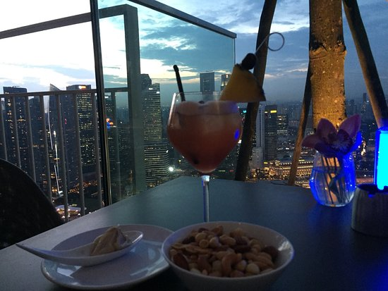 Rooftop drinks