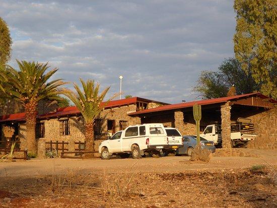 Leopard Lodge: Eingang zu Lodge