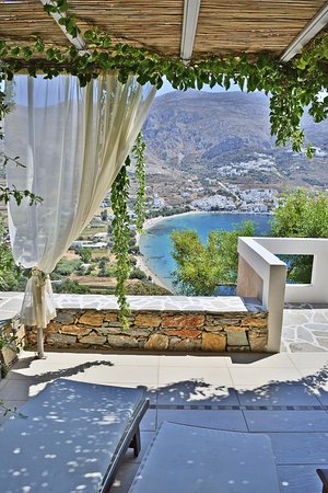 Aegiali, Greece: Exclusive Room View