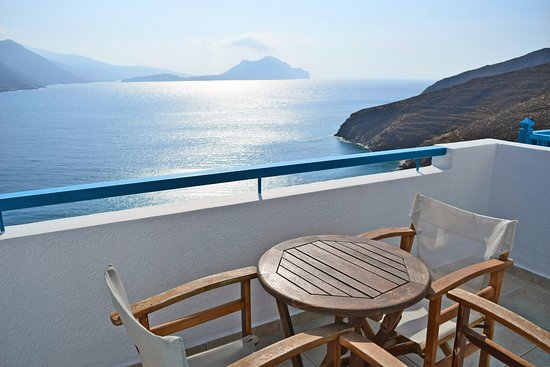 Aegiali, Greece: Superior Classic Room view