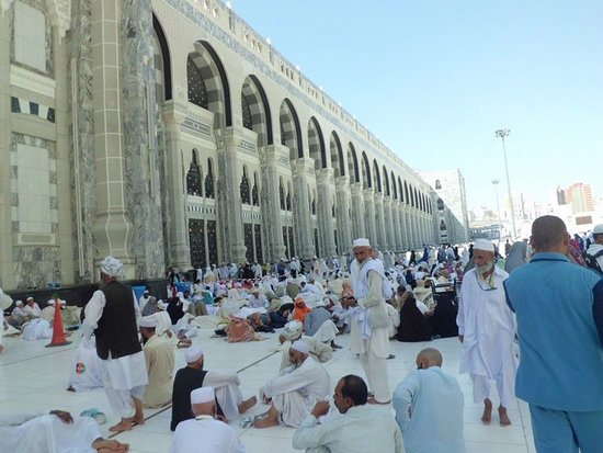 Safa to Marwa: Shofa Marwa building for Sa'i.