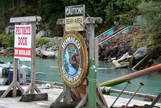 Campbell River, Canadá: Welcome to Bute Inlet