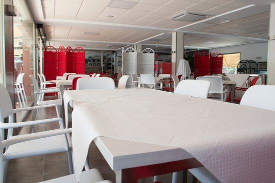 Camping Arena Blanca: Restaurante