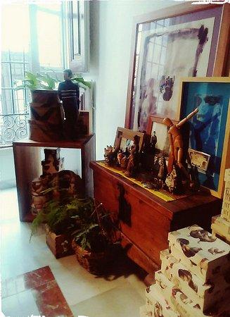 Castril De La Pena, Spain: Algunas piezas del museo
