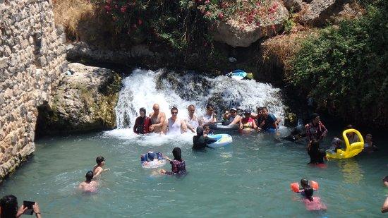 Beit She'an, Israël: один из водопадов