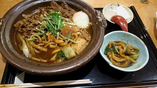 Minamisatsuma, Japan: 味噌煮込みうどん